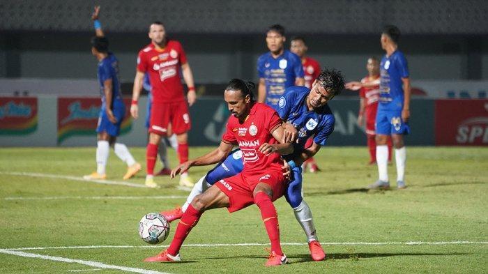 Gol Bunuh Diri Rohit Chand Gagalkan Kemenangan Tim Persija Jakarta Dari PSIS Semarang