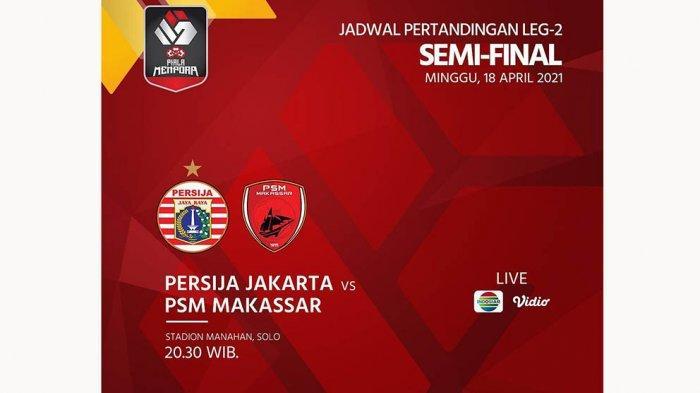 Hasil Babak Pertama: Persija Jakarta Vs PSM Makassar Masih 0-0