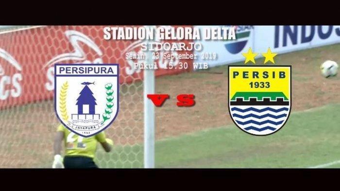 Sedang Berlangsung Live Streaming Persipura Vs Persib Bandung 0-1, Ezechiel Akhirnya Cetak Gol