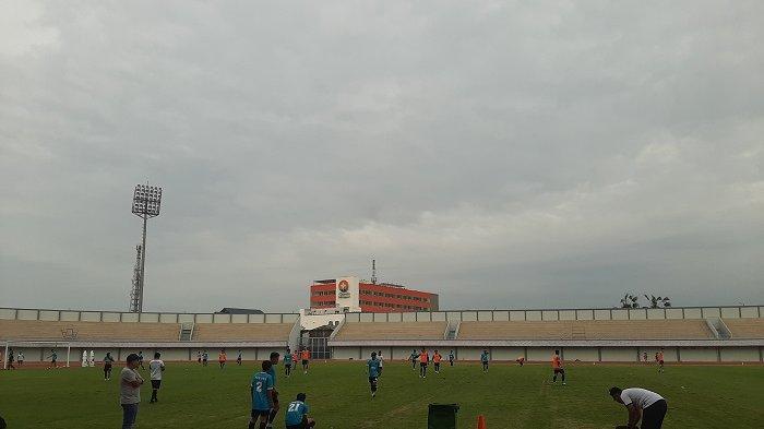 Perawatan Drainase Selesai, Persita Tangerang Bisa Berlatih Lagi di Sport Center