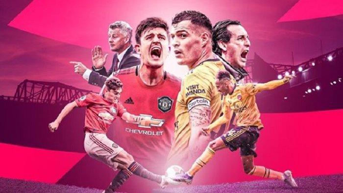LIVE Streaming Liga Inggris Manchester United Vs Arsenal di Mola TV, Pogba dan Rashford Main