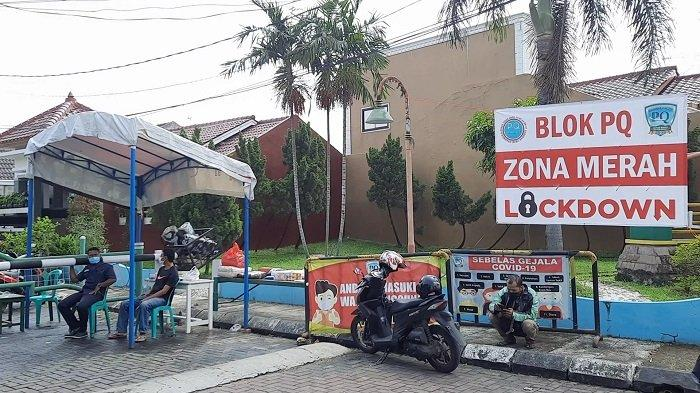 Perumahan Bumi Anggrek Blok PQ Terapkan Lockdown setelah 1 Orang Meninggal Positif Covid-19