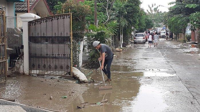 Banjir di Villa Jatirasa Kota Bekasi Surut, Warga Berharap Tak Ada Banjir Kiriman Lagi dari Bogor