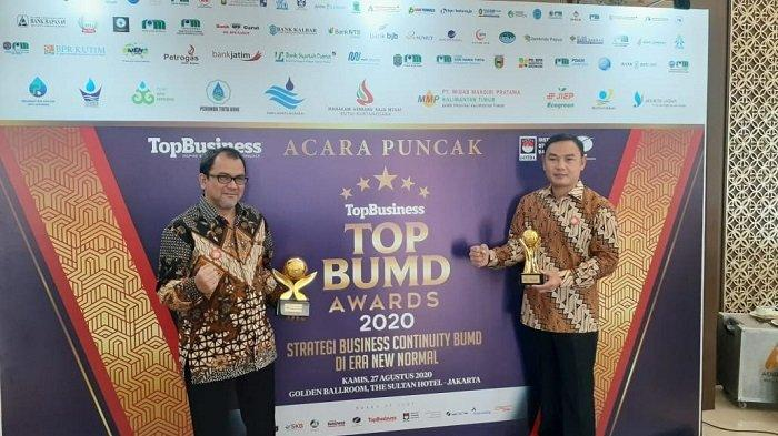 Perumdam TKR Tangerang Sabet Penghargaan BUMD Terbaik Nasional