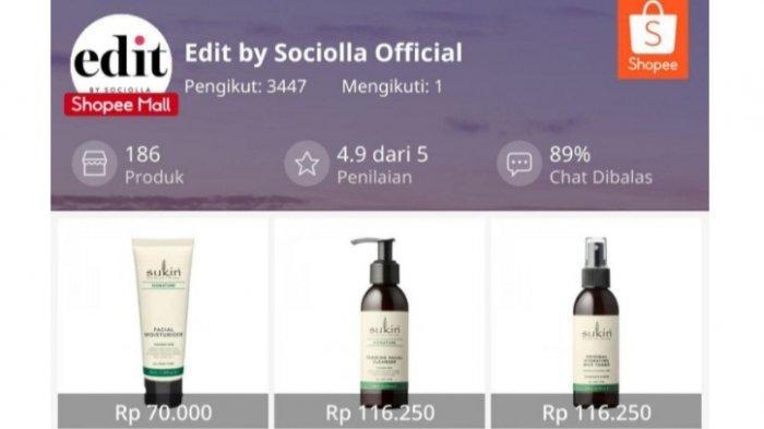 Ingin Cari Produk Kecantikan Asli dan Bersertifikat BPOM, Buka saja Fitur Edit by Sociolla di Shopee