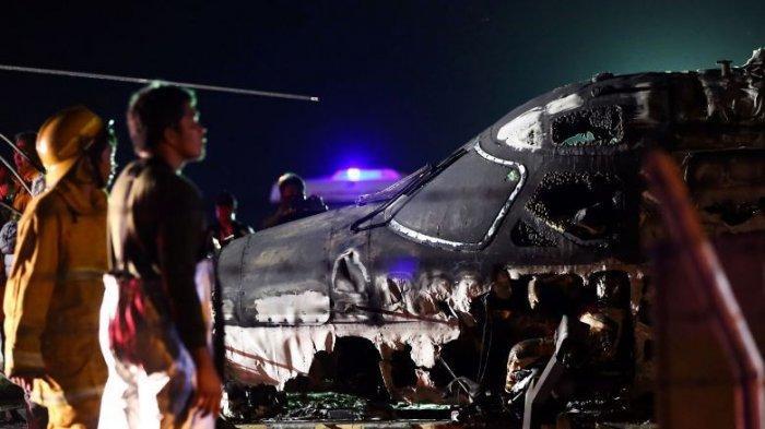 BREAKING NEWS: Pesawat Carter Bawa 8 Penumpang Diantaranya Dokter Meledak di Bandara Filipina