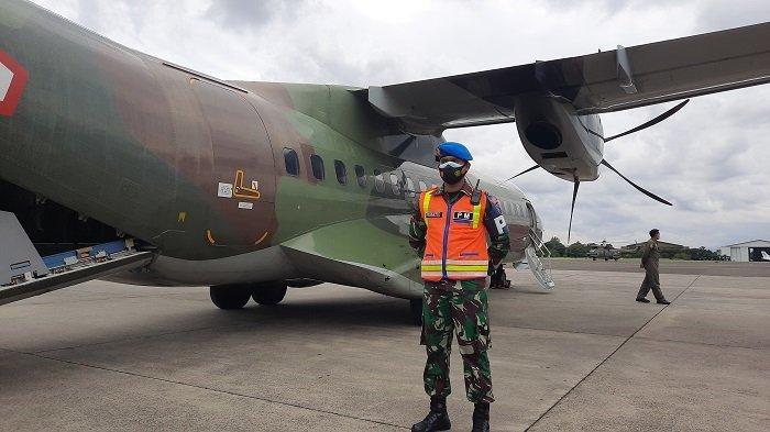 Cari Pesawat Sriwijaya Air Jatuh, CN 295 TNI AU Berputar 15 Kali di Atas Pulau Laki Kepulauan Seribu