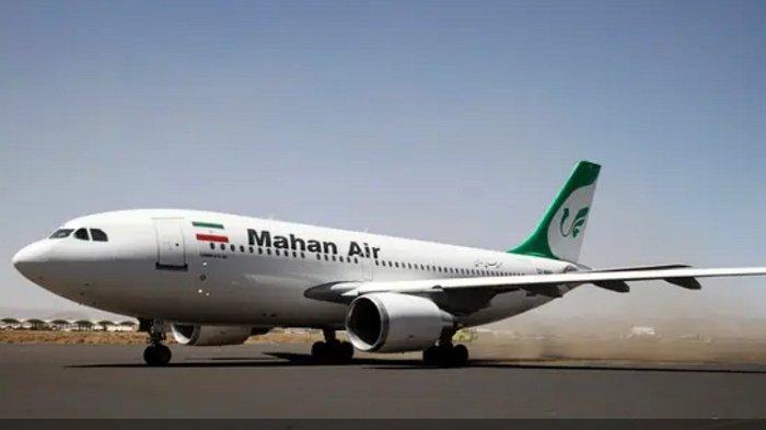 Pesawat Iran Lakukan Manuver Hindari Tabrakan dengan Pesawat Tempur AS, Penumpang Cedera