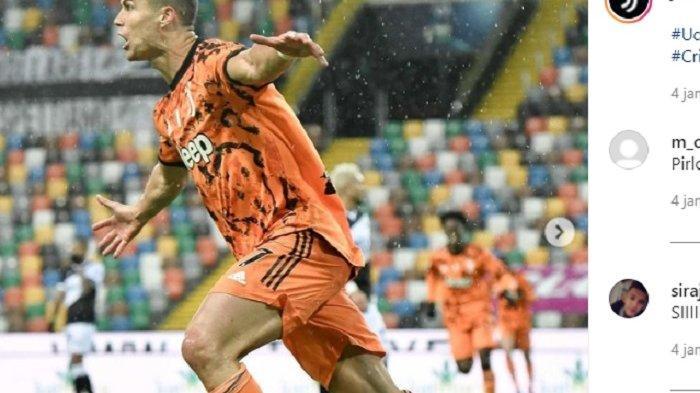 Pesepak bola Cristiano Ronaldo yang trending twitter, jadi penyelamat Juventus hingga raup Rp 10,6 M/posting di instagram.