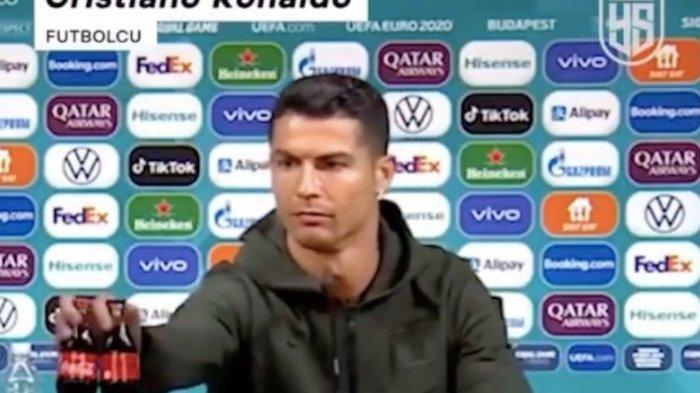 Viral Video Cristiano Ronaldo Geser Botol Coca Cola, Ustaz Yusuf Mansur : Nih Videonya