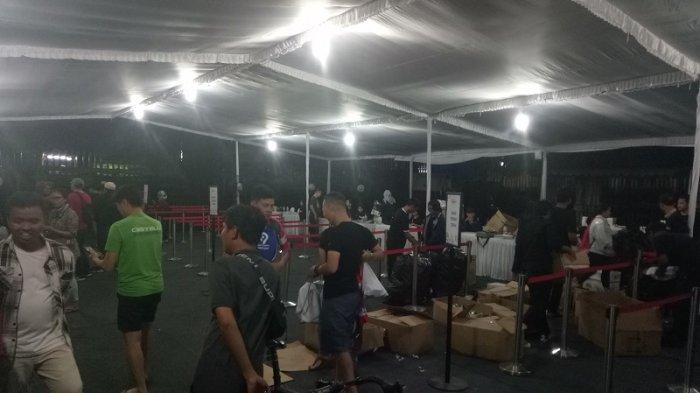 Hampir 900 Peserta PRURide Indonesia 2019 Ambil Race Pack di Stadion Mandala Krida