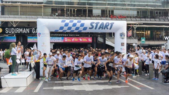 Ribuan Pelari Ramaikan LSPR Run di Senayan