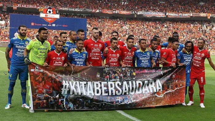 Rivalitas Persija Jakarta Dan Persib Bandung Sejak 69 Tahun Yang Lalu