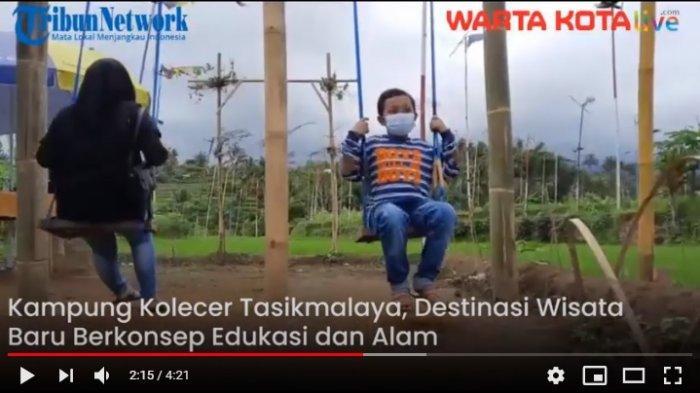 VIDEO Kampung Kolecer Tasikmalaya, Destinasi Wisata Baru berkonsep Edukasi dan Alam