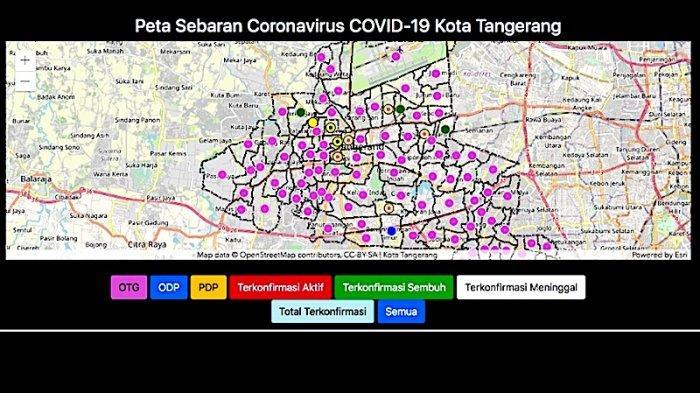 PSBB Tangerang Raya Diperpanjang Sampai 8 Agustus, Banten Masih Masuk Zona Kuning