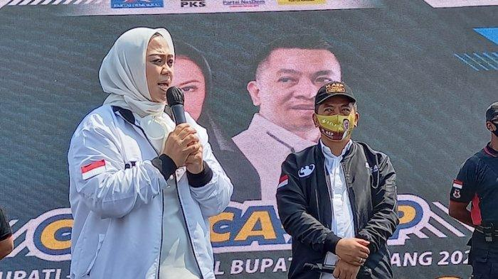 Dilantik Ridwan Kamil Sebagai Bupati -Wakil Bupati Terpilih, Cellica-Aep Minta Doa Warga Karawang