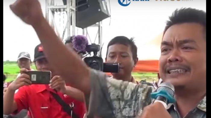 Petani Bawang Mantan Anggota KPU yang Nangis ke Sandiaga Laporkan Guntur Romli ke Polisi