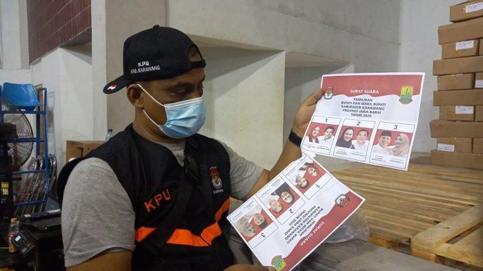 Dua Pekan Jelang Hari Pencoblosan Pilkada Karawang, KPU Karawang Catat Ada 556 Surat Suara Rusak