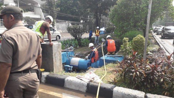 Palyja Perbaiki Pipa, Ini Wilayah yang Mengalami Gangguan Pasokan Air Sabtu 8 Agustus 2020