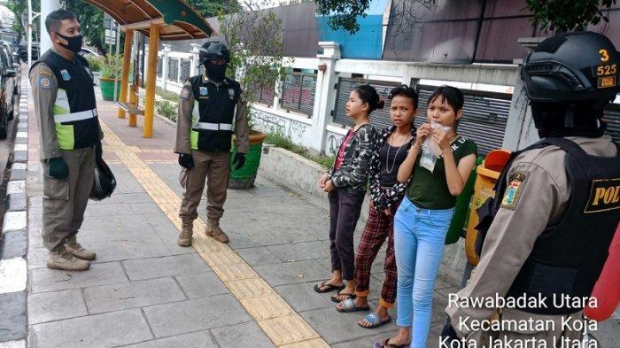 Anak JalananDibawa Satpol PP ke GOR Tanjungpriok, Diimbau untuk Patuhi PSBB
