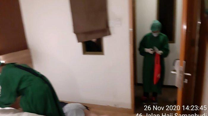 Seorang ASN Ditemukan Tak Bernyawa di Kamar Hotel Sawah Besar, Jenazah Reaktif Covid-19