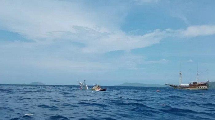 Wartawan Istana Penumpang Kapal Phinisi yang Terbalik Dihantam Ombak di Labuan Bajo Selamat