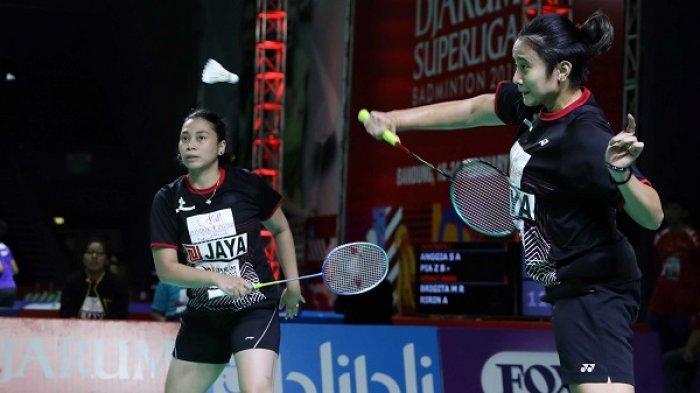 Tim Putri Jaya Raya Juara Grup di Superliga Badminton