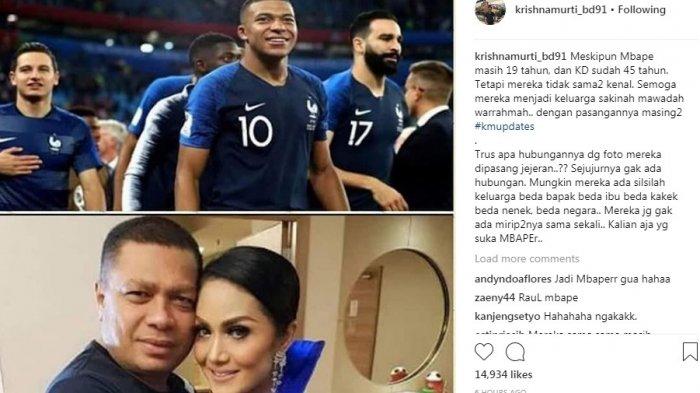 Usai Piala Dunia 2018, Ketahuan Kylian Mbappe Ternyata 'Saudara' Raul Lemos