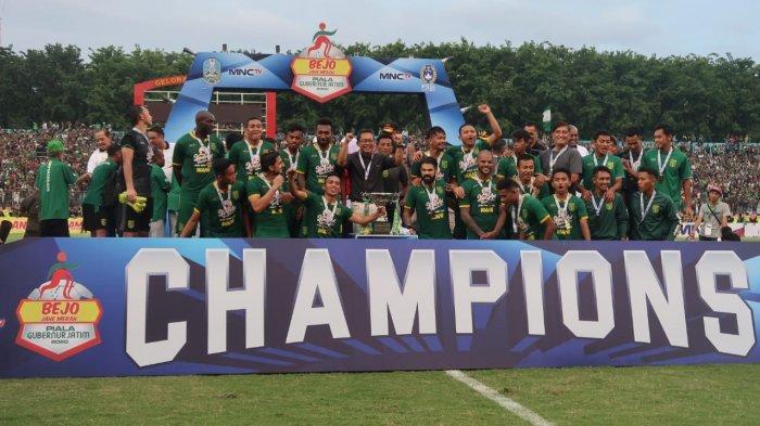 INI Alasan Persija Dilarang Ikut Prosesi Penyerahan Hadiah Piala Gubernur Jatim 2020