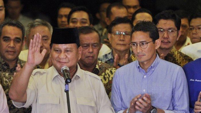 Prabowo Subianto Akui Sandiaga Uno Berpotensi Jadi Presiden 2024, Tapi Masih Lama, Masil Lama itu