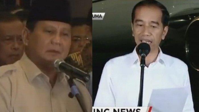 Pesan Prabowo & Jokowi Usai Hakim Mahkamah Konstitusi Putuskan Hasil Sengketa Pilpres 2019