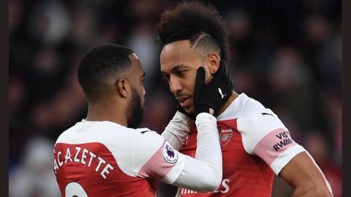 Arsenal Harapkan Alexandre Lacazette dan Pierre-Emerick Aubameyang Cetak Gol