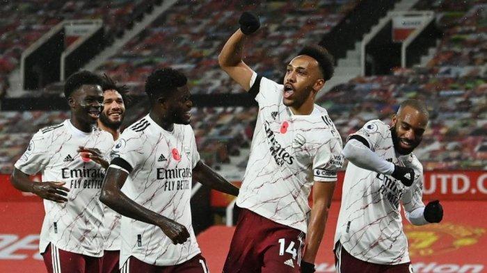 Aubameyang 'Menggila' dan Cetak Hattrick, Laga Arsenal-Leeds United Berkesudahan 4-2
