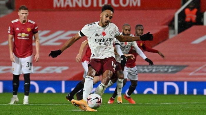 Starting XI dan Live Streaming Newcastle vs Arsenal, Pierre-Emerick Aubameyang Starter