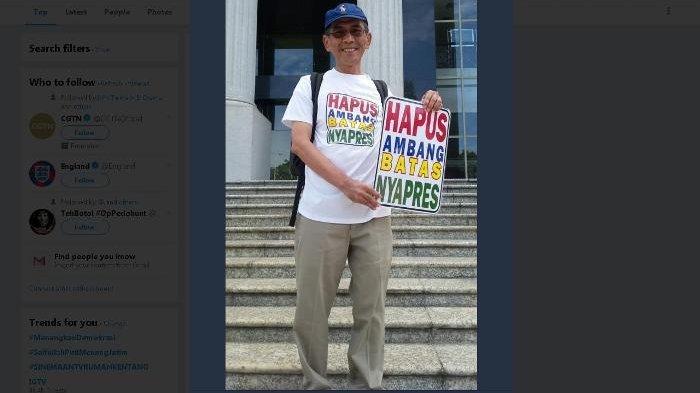 Masyarakat Madani Menangkan Demokrasi dengan Hapus Ambang Batas Capres Hasil Pemilu 2014