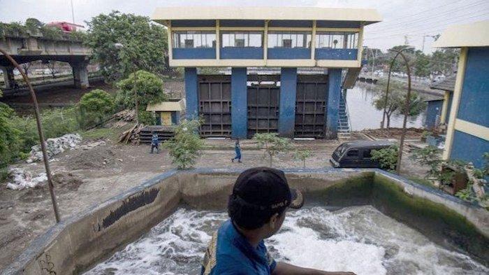 Kondisi Pintu Air (2/12) di Pasar Ikan Siaga 2 dan PA Marina Siaga 3, Inilah Wilayah yang Terdampak