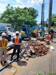 PT PAM Palyja Perbaiki Pipa, Distribusi Air Bersih di Sejumlah Wilayah Jakarta Barat Terganggu
