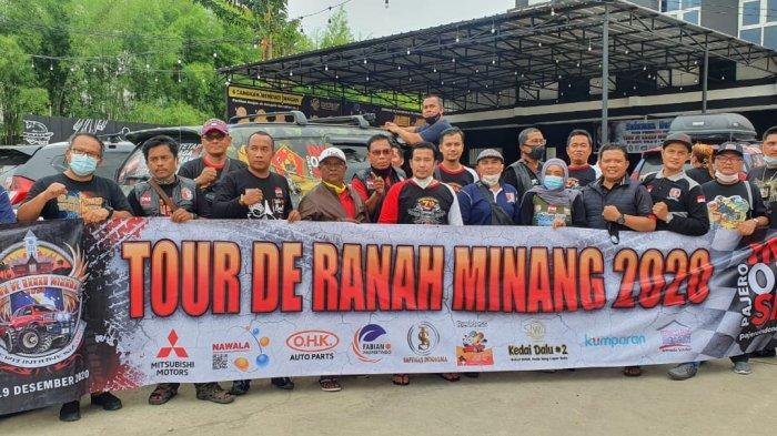 Pajero Indonesia One Sukses Gelar Tour de Ranah Minang 2020