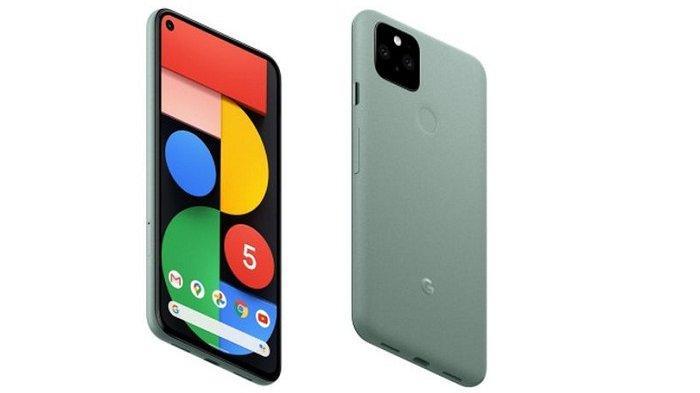 Google Pixel 5 varian warna Sorta Sage
