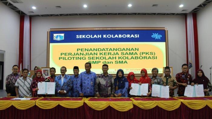 Disdik DKI Mulai Program Piloting Sekolah, 21 Sekolah Negeri Bina Sekolah Swasta