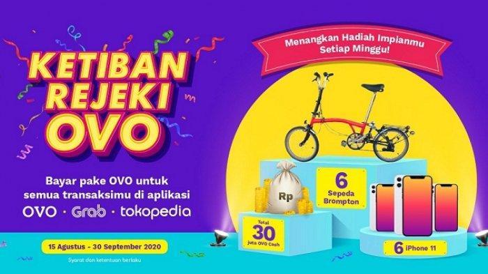 Gelar Program Undian Berhadiah, OVO Siapkan Sepeda Brompton hinggaiPhone11, Begini Caranya