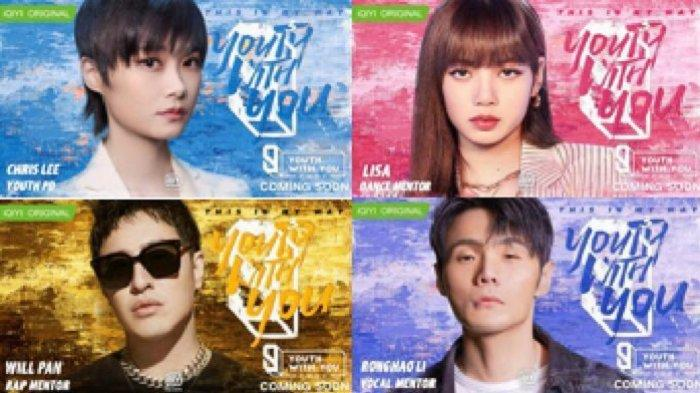 Platform streaming iQiyi mengumumkan line-up mentor lengkap untuk variety show NextGen terbesar mereka Youth With You Season3.
