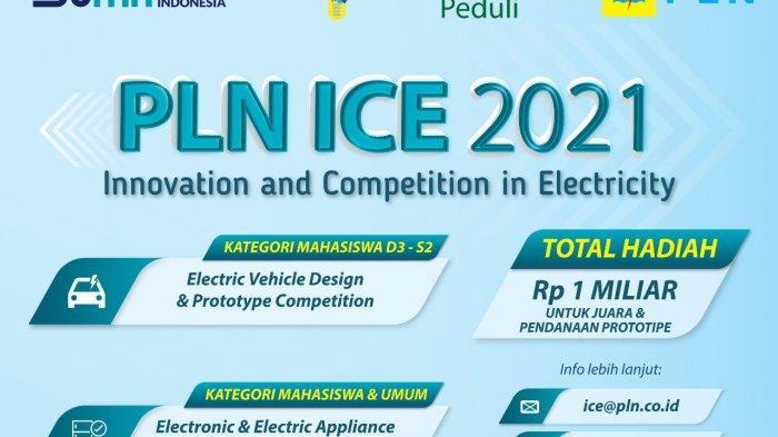 Yuk Ikut Kompetisi Prototype Kendaraan Listrik PLN ICE 2021, Total Hadiah Rp 1 Miliar