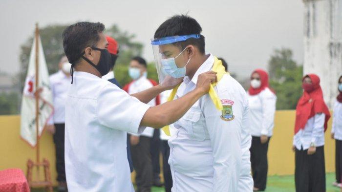 PMI Kota Tangerang Lantik 288 PMR dan Tenaga Sukarela