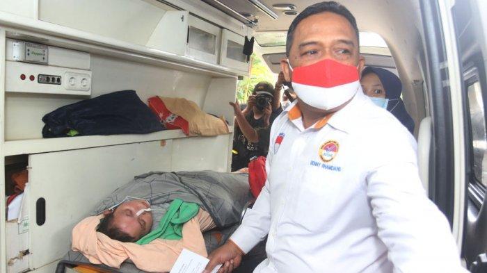 BERITA FOTO : Kepala BP2MI Jemput Aam Aminah Pekerja Migran Indonesia yang Menderita Stroke