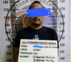 Oknum PNS Pemkab Tangerang Dicokok Polisi Tersandung Kasus Narkoba