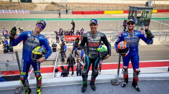 Hasil dan Klasemen MotoGP,  Franco Morbidelli Juara MotoGP Teruel 2020, Joan Mir Kokoh di Klasemen