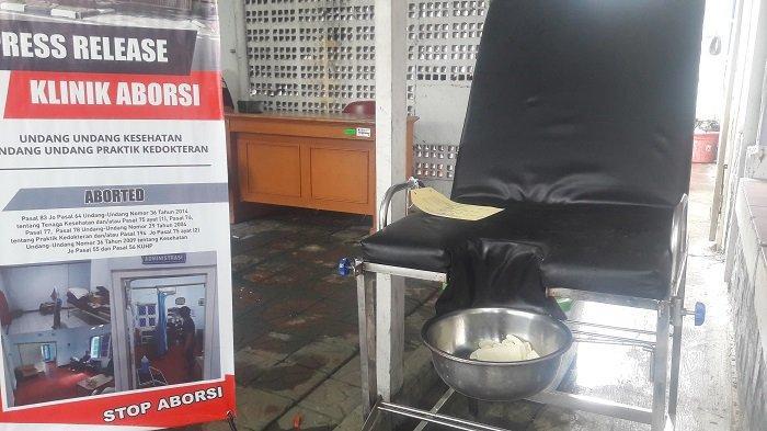 BREAKING NEWS: Polisi Bongkar Klinik Praktik Aborsi Ilegal di Paseban, Tiga Orang Ditangkap