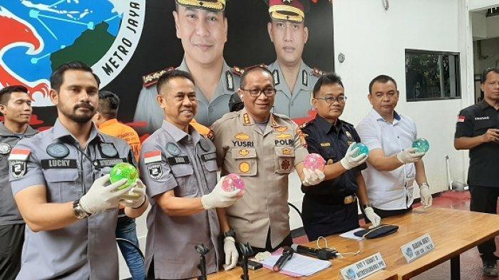 Polda Metro Jaya Ungkap Modus Baru Peredaran Narkoba, Sabu Cair Dikemas dalam Bola Karet Mainan Anak