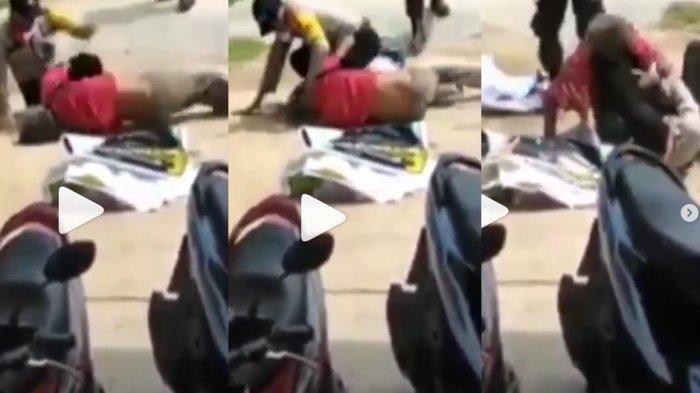 Dua Polisi Berkelahi dengan Seorang Pria, Keduanya Tetap Dianggap Bersalah dan Diperiksa Propam